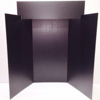 Black Exhibit Board Purchasing Options