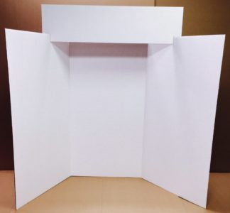 White Exhibit Board Purchasing Options